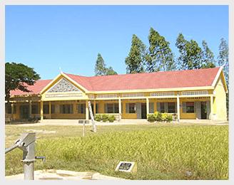 カンボジアに学校建設