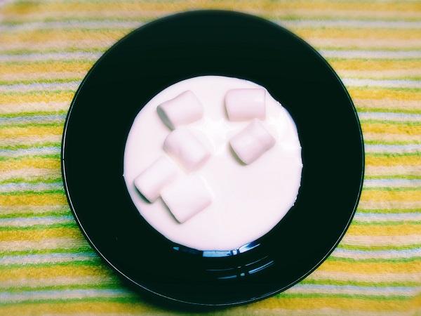 牛乳パックでマシュマロを使ったアイスレシピ